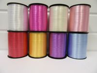 2 metres or full roll 5mm Dark Purple Curling Florist Balloon Ribbon Double sided 5mm